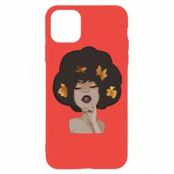 Чохол для iPhone 11 Pro Afro girl in autumn shades