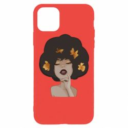 Чохол для iPhone 11 Pro Max Afro girl in autumn shades