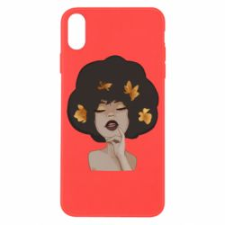 Чохол для iPhone X/Xs Afro girl in autumn shades