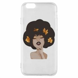 Чохол для iPhone 6/6S Afro girl in autumn shades
