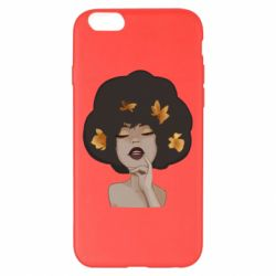 Чохол для iPhone 6 Plus/6S Plus Afro girl in autumn shades