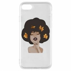 Чохол для iPhone 7 Afro girl in autumn shades - FatLine