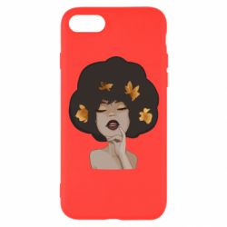Чохол для iPhone 8 Afro girl in autumn shades