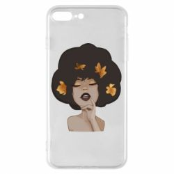 Чохол для iPhone 8 Plus Afro girl in autumn shades
