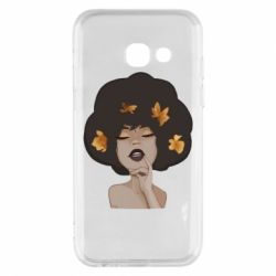 Чохол для Samsung A3 2017 Afro girl in autumn shades