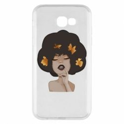 Чохол для Samsung A7 2017 Afro girl in autumn shades