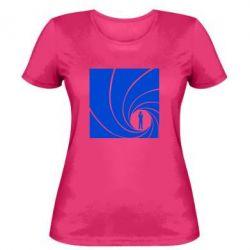 Женская футболка Agent 007 - FatLine