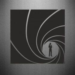Наклейка Agent 007