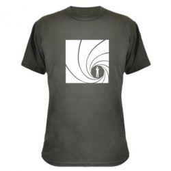 Камуфляжная футболка Agent 007 - FatLine