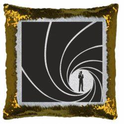 Подушка-хамелеон агент 007