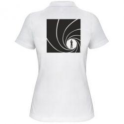 Женская футболка поло Agent 007 - FatLine