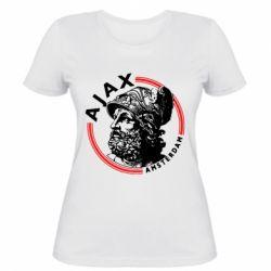 Жіноча футболка Ajax лого