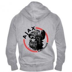 Чоловіча толстовка на блискавці Ajax лого
