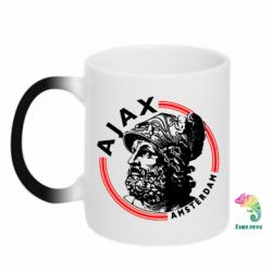 Кружка-хамелеон Ajax лого