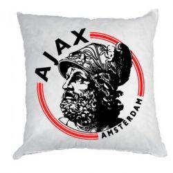 Подушка Ajax лого