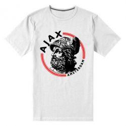 Чоловіча стрейчева футболка Ajax лого