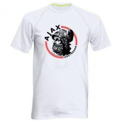 Чоловіча спортивна футболка Ajax лого