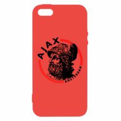 Чохол для iphone 5/5S/SE Ajax лого