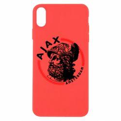 Чохол для iPhone X/Xs Ajax лого
