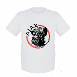 Дитяча футболка Ajax лого