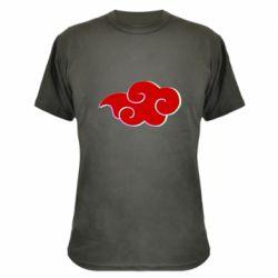 Камуфляжная футболка Akatsuki Naruto