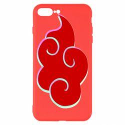 Чехол для iPhone 8 Plus Akatsuki Naruto