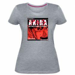 Жіноча стрейчева футболка Akira