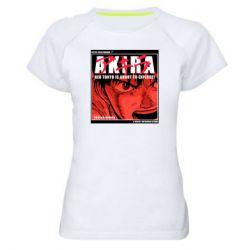 Жіноча спортивна футболка Akira