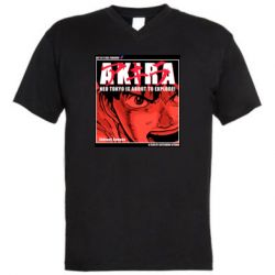 Чоловіча футболка з V-подібним вирізом Akira