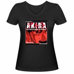Жіноча футболка з V-подібним вирізом Akira