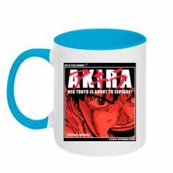 Кружка двоколірна 320ml Akira