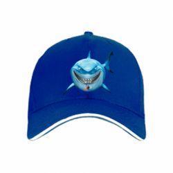 Кепка Акула улыбается