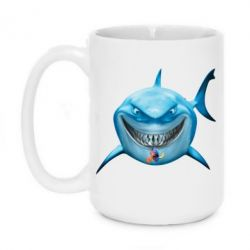 Кружка 420ml Акула улыбается