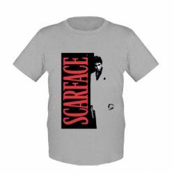 Купить Детская футболка Al Pacino aka Tony Montana, FatLine