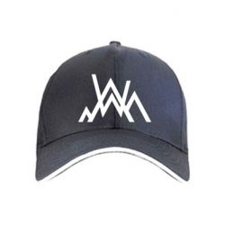 Кепка Alan Walker logo and mountains