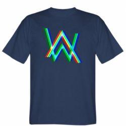 Чоловіча футболка Alan Walker multicolored logo