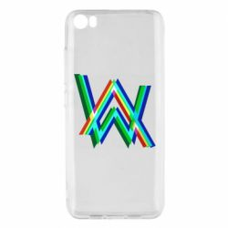 Чехол для Xiaomi Mi5/Mi5 Pro Alan Walker multicolored logo