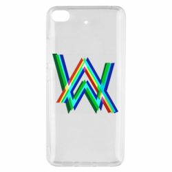 Чехол для Xiaomi Mi 5s Alan Walker multicolored logo