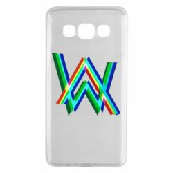 Чехол для Samsung A3 2015 Alan Walker multicolored logo