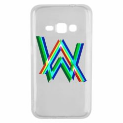 Чехол для Samsung J1 2016 Alan Walker multicolored logo