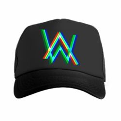 Кепка-тракер Alan Walker multicolored logo