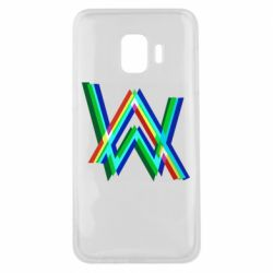 Чехол для Samsung J2 Core Alan Walker multicolored logo