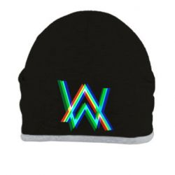 Шапка Alan Walker multicolored logo
