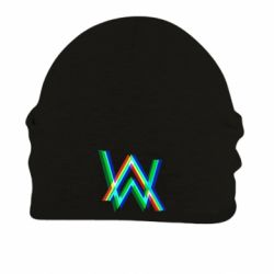 Шапка на флисе Alan Walker multicolored logo