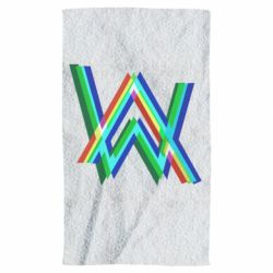 Полотенце Alan Walker multicolored logo