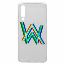 Чехол для Xiaomi Mi9 Alan Walker multicolored logo