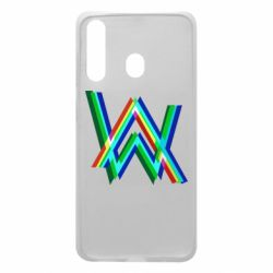Чехол для Samsung A60 Alan Walker multicolored logo