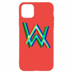 Чехол для iPhone 11 Pro Max Alan Walker multicolored logo