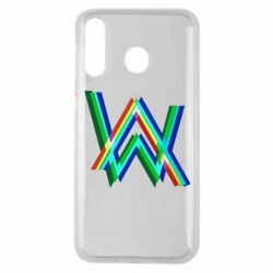 Чехол для Samsung M30 Alan Walker multicolored logo