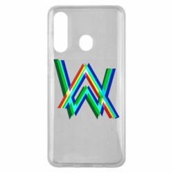 Чехол для Samsung M40 Alan Walker multicolored logo